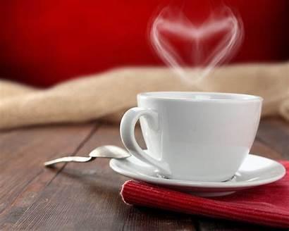 Tea Cup Heart Coffee Table Napkin Spoon