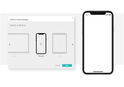 justinmind s new release iphone x design justinmind