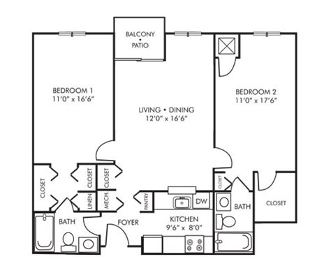 2 Bedroom Apartments 800 by Senior Apartment Community In Hyattsville Md