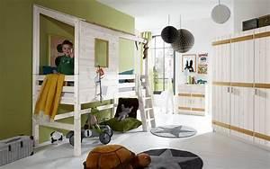 Hochbett Mit Zwei Betten : abenteuerbett als hochbett kids paradise f r ihr kinderzimmer ~ Whattoseeinmadrid.com Haus und Dekorationen