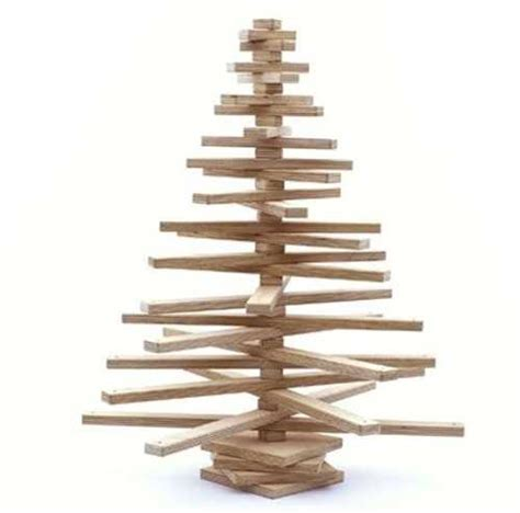 15 alternative christmas tree design ideas recycling paper cardboard and wood