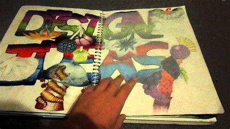 Gcse Art Sketchbook December Youtube