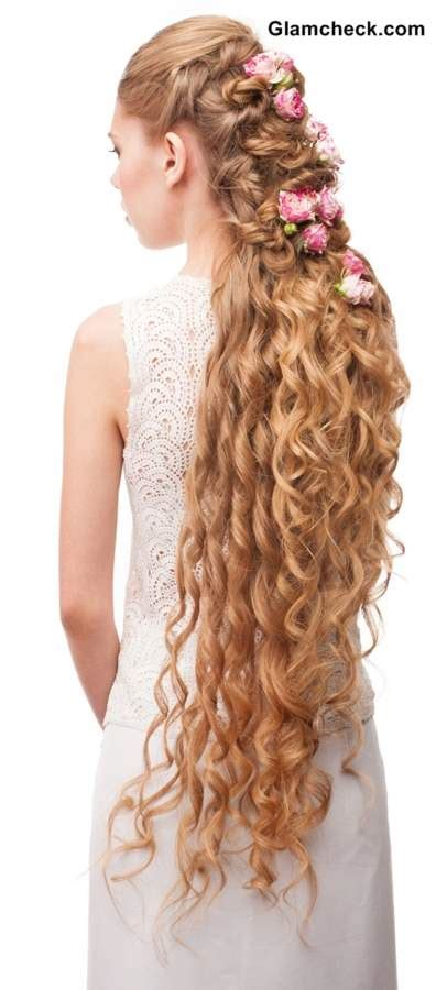 Hairstyle for Very Long and Curly Hair Fashion