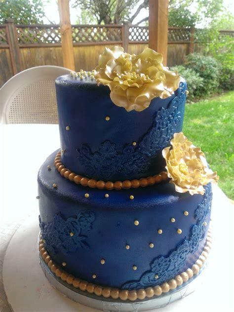 royal blue  gold cake cakes  mavia   royal