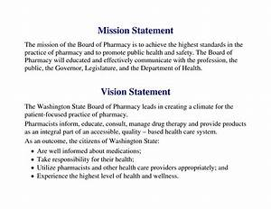 vision statement examples alisen berde With vision statement template free