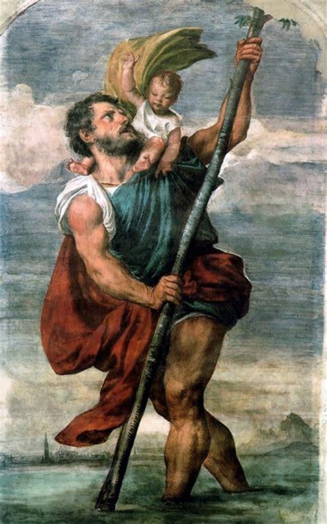 der heilige christophorus der hl christophorus legende um 250 nach christus