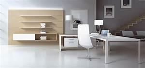Bureau Contemporain Design : mobilier de bureau design caray ~ Teatrodelosmanantiales.com Idées de Décoration