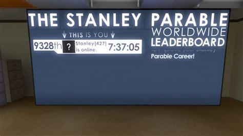 stanley parable worldwide leaderboard  stanley