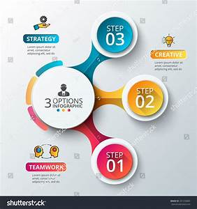Vector Elements For Infographic  Template For Diagram