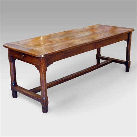 cherry dining table antique cherry wood dining table refectory table rustic
