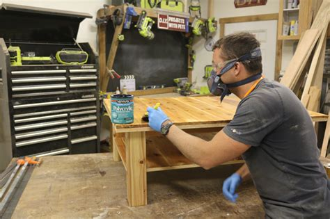 how to seal wood table how to make a wood coffee table with steel accents