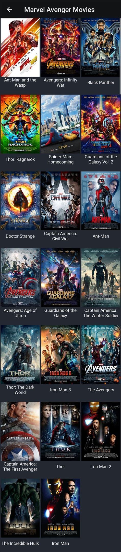 order   avengers movies quora