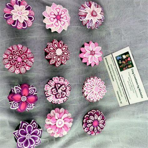 Pink Flower Dresser Knobs by Magnets