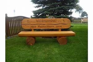 Bank Holz Garten : gartenbank mit gravur holz in steyerberg auf ~ Michelbontemps.com Haus und Dekorationen