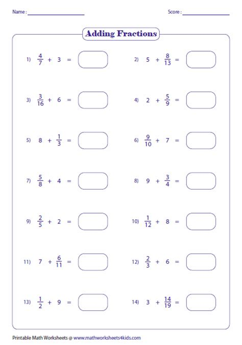 fractions greater   worksheets  grade fractions