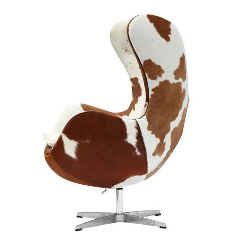 Egg Chair Cowhide by Egg Style Cowhide Chair Emfurn