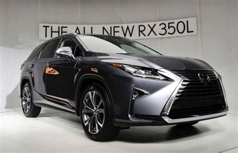 lexus rx  refreshed lexus latest models