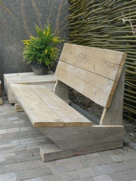Fabriquer Un Banc De Jardin En Bois Lertloycom