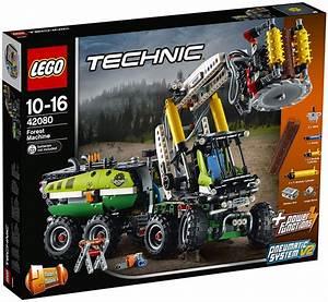 Lego Technic Camion : lego technic 42080 pas cher le camion forestier ~ Nature-et-papiers.com Idées de Décoration