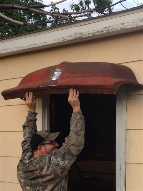 truck hood awning car part furniture diy workshop garage decor