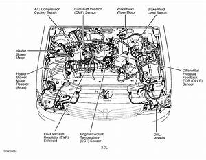 2003 Mazda B3000 Engine Diagram