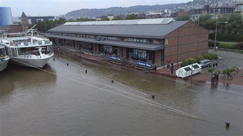 cuisine beziers photos inondations des dégâts limités en normandie