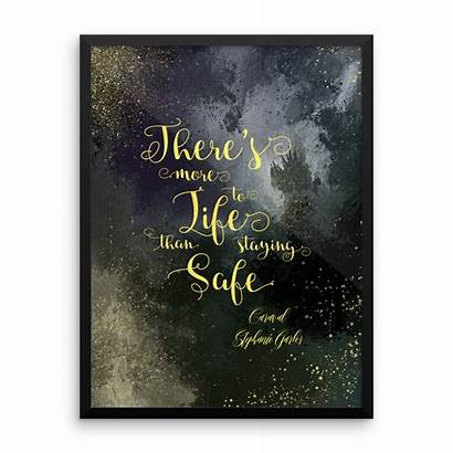 Caraval Safe Staying Quote Quotes There Than
