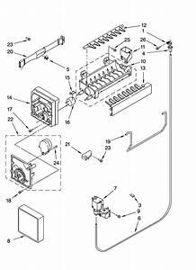 Icemaker Parts Diagram  U0026 Parts List For Model Mtf2142eeb01