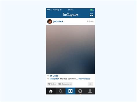 instagram template 2017 instagram mobile mockup fluxes freebies