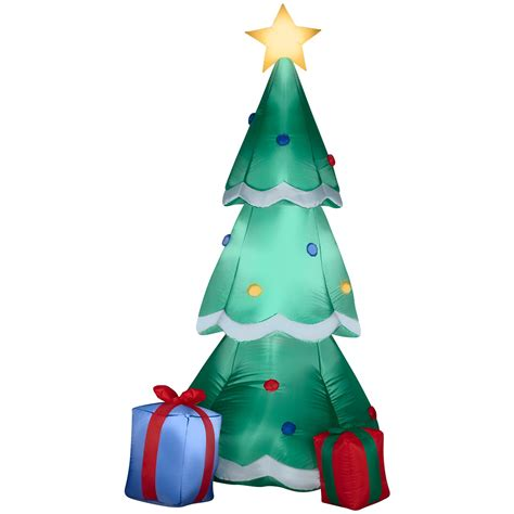 airblown christmas tree with presents buycostumes com
