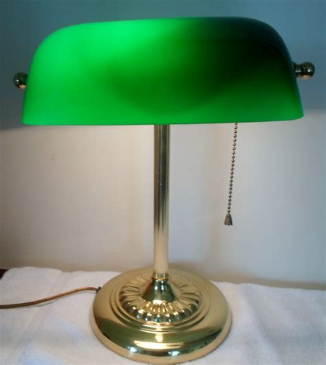 Bankers Lamp Green Ebay by Vintage Brass Banker S Student Piano Desk Library Lamp