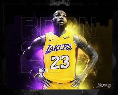 Lebron Lakers James Wallpapers Desktop Cool Pc