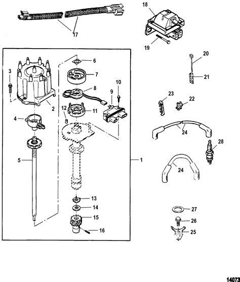 1978 Mercruiser 898 Wiring Diagram by каталог запчастей Mercruiser остальные 454 Mag Mpi