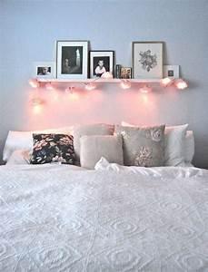 Bilder Mit Lichterkette : die sch nsten 50 dekoideen f r gem tliches zuhause lichterkette bilderrahmen und bett ~ Frokenaadalensverden.com Haus und Dekorationen