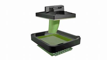 3d Printer Lcd Kickstarter Slash Printing Uniz