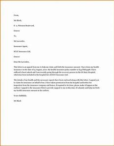13 appeal letter for insurance claim denial lease template With insurance denial appeal letter template