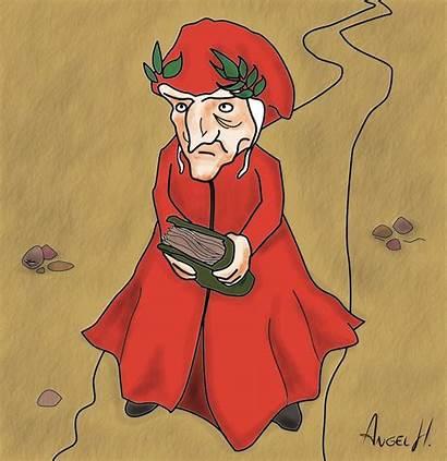 Dante Alighieri Caricatura Deviantart Lent Cross During