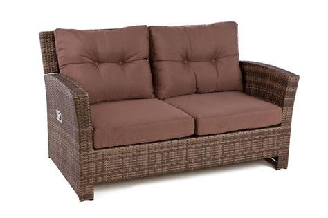 Rattan Loveseat by Outside Edge Garden Furniture Rattan 4 Seater Sofa