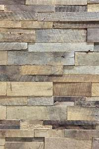 Reclaimed barn wood stacked wall panels antique barrel for Barnwood panelling