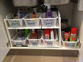 astuce pour ranger sa cuisine 6 astuces de rangement sous l 39 évier organisation maison