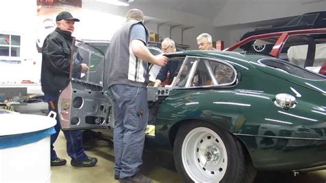 Jaguar E-type Fia Race Car, First Start