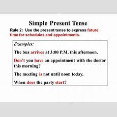 Parts Of Speech Part 4 Verb Tenses  Ppt Video Online Download