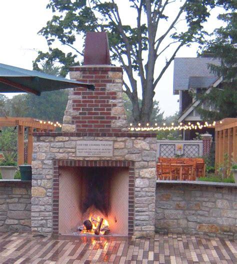 outdoor firebox outdoor rumford gallery superior clay