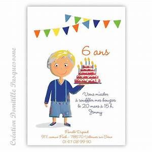 Carte Anniversaire Pour Enfant : invitation anniversaire enfants invitation anniversaire ~ Melissatoandfro.com Idées de Décoration