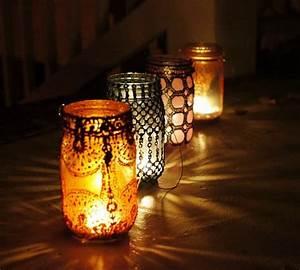 Mason, Jar, Recycled, Lanterns, U2022, Id, Lights