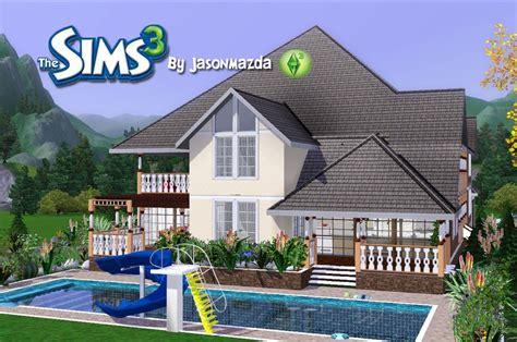 Sims House Plans Designs Prestigious  Building Plans