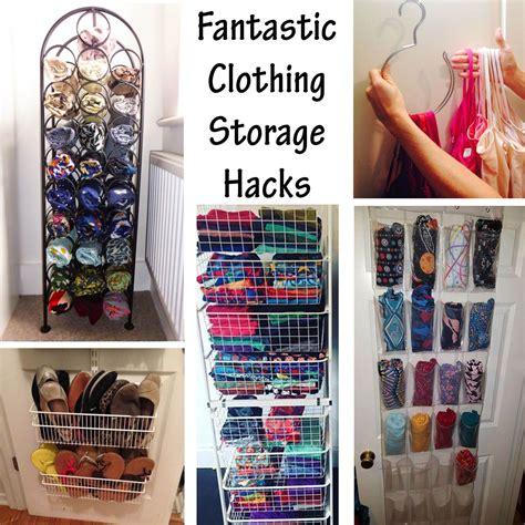 Diy Clothes Closet Organization Ideas by Fantastic Clothing Storage Hacks Organization Small