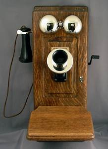 Parts For This Phone Wood Wall Phones Were Among The First