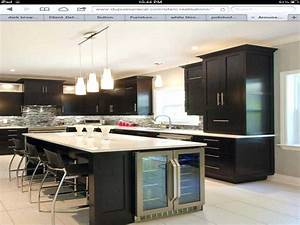 kitchen island with wine fridge cellar entrance bar 2018 With kitchen cabinet trends 2018 combined with japanese candle holders