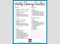 Free Printables! Daily, Weekly & Monthly Cleaning Schedule